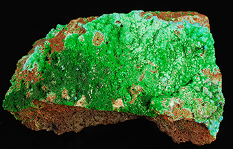 Fedotovite and euchlorine - Yadovitaya fumarole - Main Fissure near Breakthrough - Tolbachik volcano - Kamchatka Oblast' - Far-Eastern Region - Russia