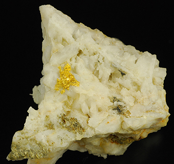 Gold - Brusson mine - Aosta Valley - Italy