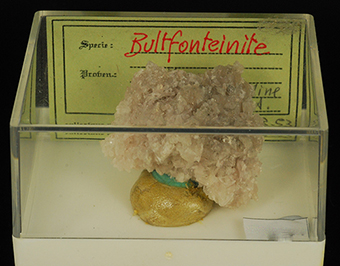 Bultfonteinite and ettringite - N'Chwaning mines - Kuruman - Northern Cape - South Africa