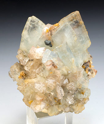 Baryte - Mowbray Mine, Frizington, West Cumberland Iron Field, North and Western Region, Cumbria, England, UK