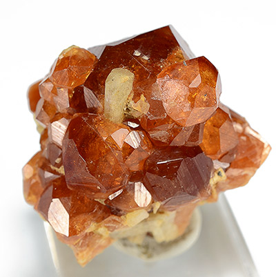 Grossular var. Hessonite -    Mana Mine, Barang-Turghao (Mor-Darra), Bajaur Agency, Federally Administered Tribal Areas (FATA), Pakistan