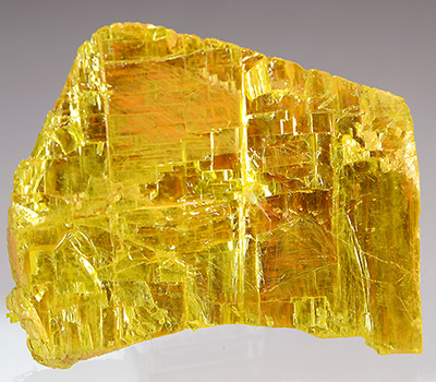 Orpiment - Senduchen occurrence, Men-Kyule River, Verkhoyansk Range, Lena River Basin, Bulun District, Polar Yakutia, Sakha Republic, Eastern-Siberian Region, Russia