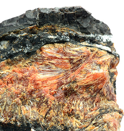 Inesite - Hilfe Gottes Mine, Oberscheld, Dillenburg, Dillenburg District, Hesse, Germany (Type Locality)