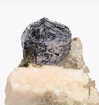 Molybdenite, Moly Hill mine, Québec, Canada