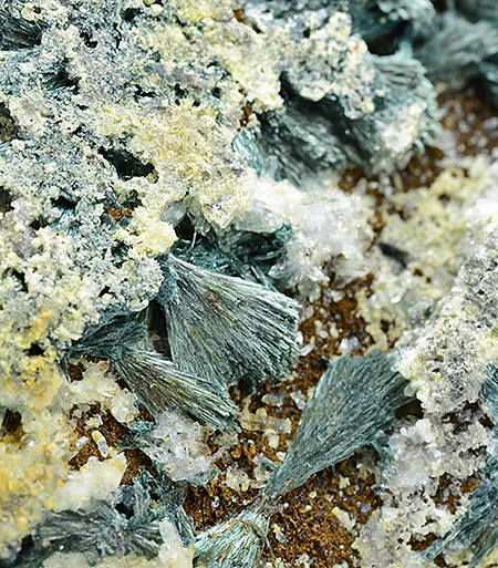 Gormanite  with Brazilianite - Big Fish River, Dawson Mining District, Yukon Territory, Canada