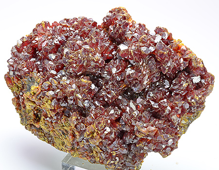 Orpiment  - Quiruvilca District, Santiago de Chuco Province, La Libertad Department, Peru