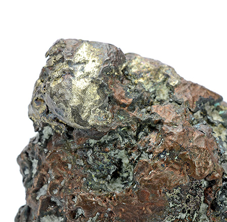 Silver and Copper - Calumet, Calumet Township, Houghton Co., Michigan, USA
