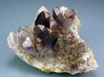 Quartz Amethyst - Warmbad, Orange River - South Africa